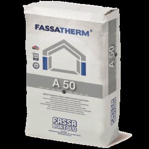 Mortero adhesivo A50 para paneles aislantes
