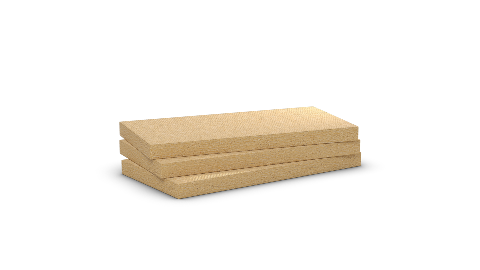 Panel rígido de lana de roca Rockfeu E 520