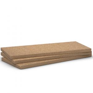 Paneles aislantes Rockplus E 220 de lana de roca volcánica sin revestimiento