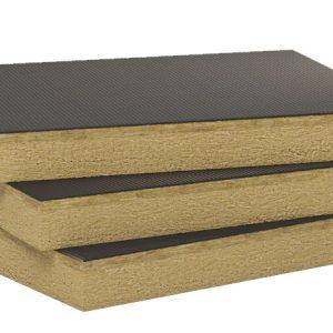 Paneles aislantes para cubiertas con acabados impermeables