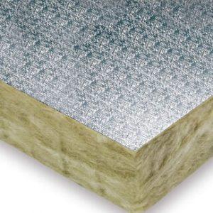 paneles aislantes de lana mineral ursa terra papel aluminio gofrado p2363