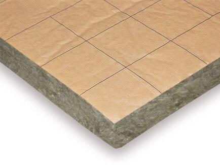 paneles de lana mineral para trasdosado y paredes de doble capa