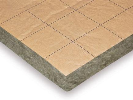 Paneles aislantes de lana mineral Terra mur Plus p1203