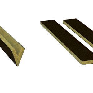 Tiras para grecas perforadas de chapas de acero