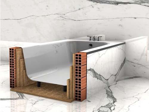 Bañeras con aislamiento acústico