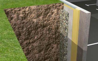 Aislamiento de muros enterrados con ursa xps