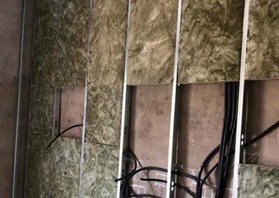 Instalación de trasdosados para fachadas y medianeras