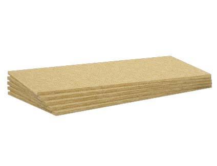 Panel rígido de lana de roca no revestido Conlit 150 P