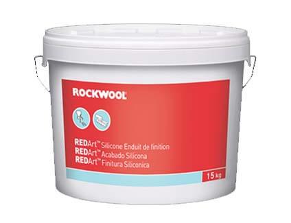 Acabado de Silicona REDArt para SATE Rockwool