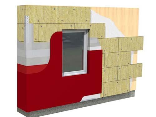 Sistema SATE REDArt para fachadas con soporte de madera