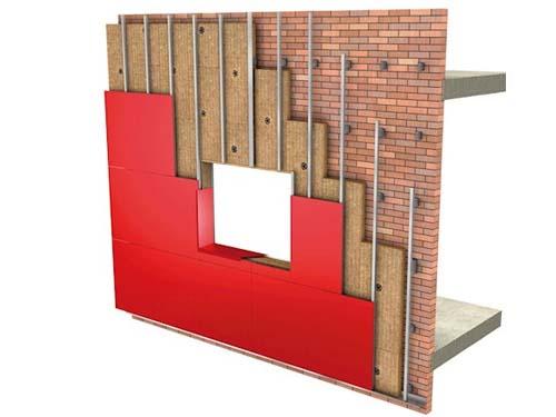 Sistema SATE para Fachadas ventiladas - Rockwool