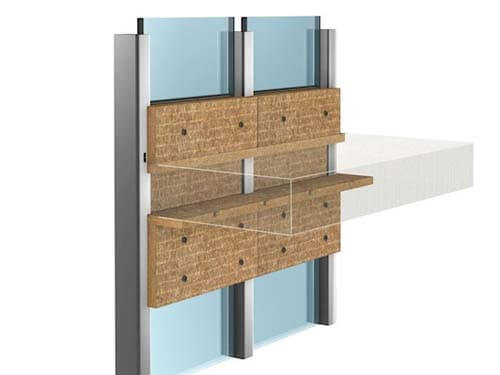 Sistema CONLIT MC - Barrera Cortafuego Muro Cortina