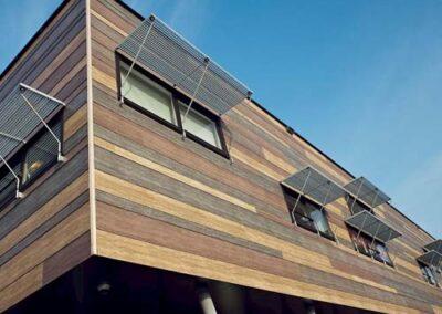 SATE para Fachada Ventilada con estructura de madera