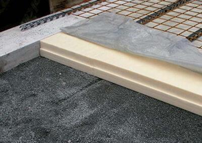 Los paneles xps ursa se colocan bajo la cimentación de los edificios