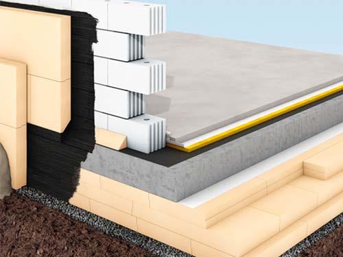 aislamiento térmico con paneles xps en la cimentación