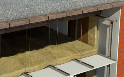 Sobre falso techo