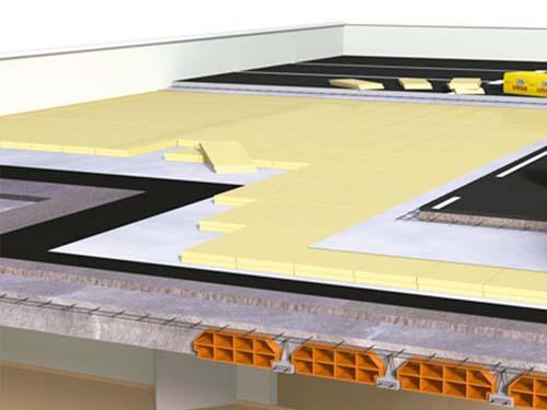 aislamiento suelos para tráfico rodado con paneles xps