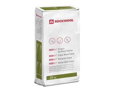 Mortero de cemento para SATE Rockwool