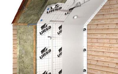 Aislamiento por el interior URSA SECO en cubiertas