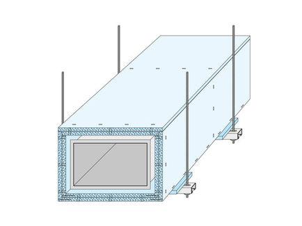 Protección contra incendios de conductos de ventilación de chapa metálica