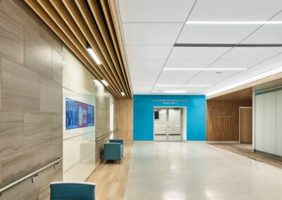Axiom transiciones en el Hospital suburbano Johns Hopkins