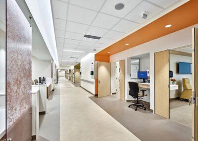 Techo AXIOM Clásico en el Hospital suburbano de medicina Johns Hopkins