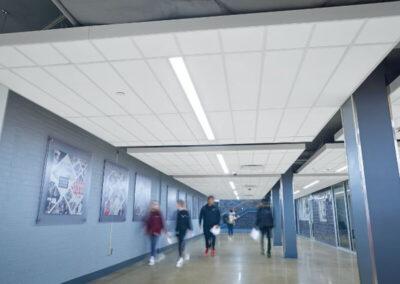 Techo AXIOM Clásico en el instituto de la ciudad de Jefferson