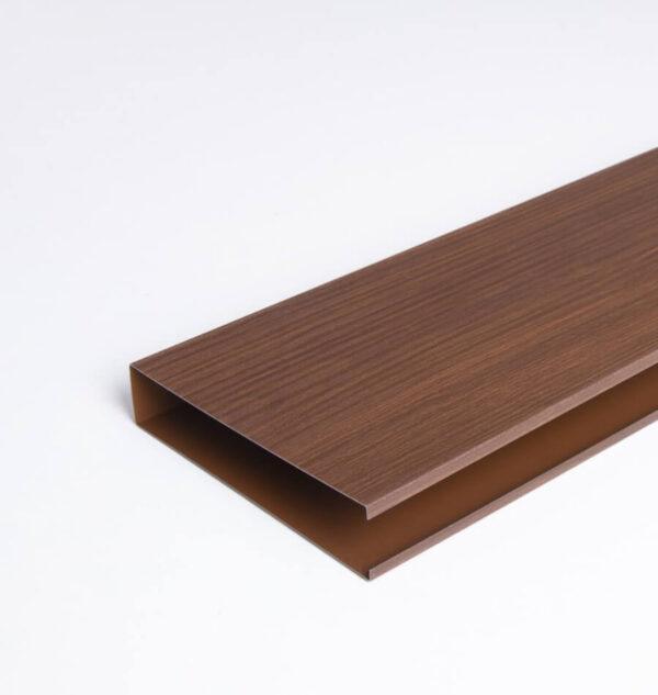 bafle acústico color madera thu
