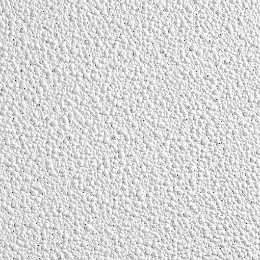Panel para techos Pebble de Armstrong Ceilings de color blanco